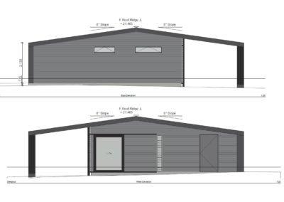 Sleepout with Storage and Louver Roof SS1.2 Front