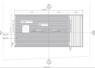 Sleepout with Storage and Louver Roof SS1.5 Roof