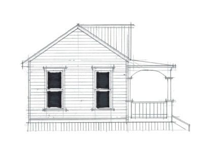 Sleepout Bungalow 1 30m2 6.1.2 Side 2 1000x666