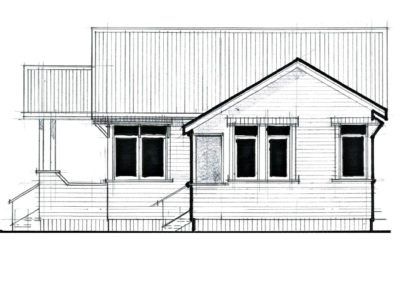 Sleepout Bungalow 1 65m2 10.1.2 Side 1000x666