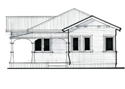 Sleepout Bungalow 3 65m2 10.3.2 Side 1000x666