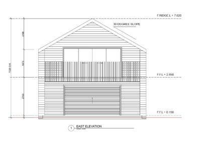 Double Garage Minor Dwelling DGMD1.3 Front 1256x837